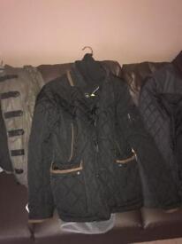Range of men's coats