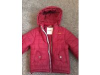 Boys Ben Sherman padded jacket age 6-7.