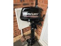 Mercury 5hp outboard 2014 long shaft