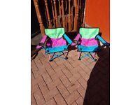 2 kiddies chairs