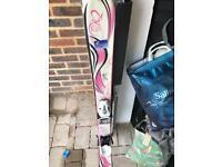 Girls' K2 skis, 112cm