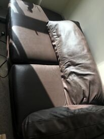 Sofas need to go,and leather sofa bed