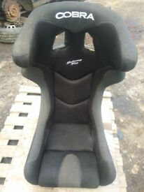 Cobra SebringPro Bucket seat Carbon Kevlar Drift Rally Track Race