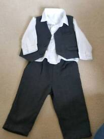 Baby boy suit Marks and Spencer, wedding, party, christening