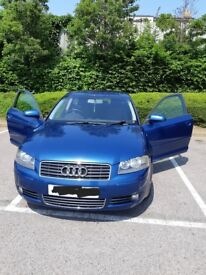 A3 immaculate. 1.6 no work needed. Elec windows/mirrors. 5 CD. Mitchlin tyres. Service history.