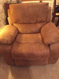 Reclining Sofa + 2 Rocker/ Reclining Chairs