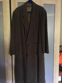 Full length Armani men's coat