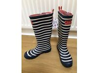 Joules Wellington Boots - brand new with tags - UK 5 / Eur 38 - HALF PRICE