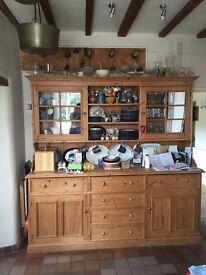 Large Kitchen Dresser - Vintage wood