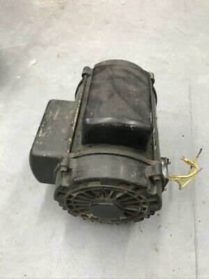 6 Hp Single Phase Us Electric Compressor Motor 184t Frame 230 V Snap-on 1740rpm