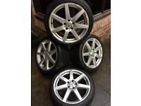 "Genuine Mercedes c class 18"" alloy wheels"