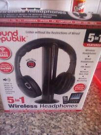 5 in 1 headphones