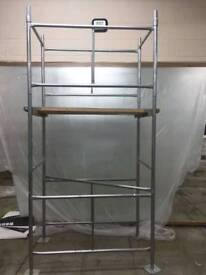 scaffold platform 4ft by 2ft and a half.