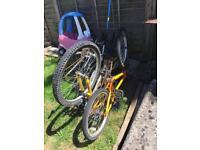 Bikes for repair