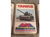 Top trump game cards (old/vintage)