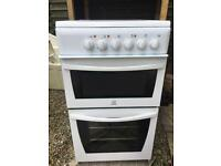 Indesit 50cm cooker electric