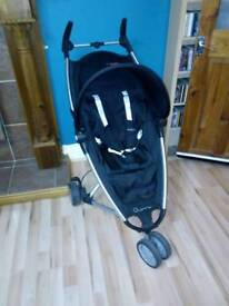 Quinny Zapp small fold stroller with extras