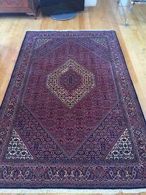 Harrods Persian Fine Bidjar Carpet 100% Wool