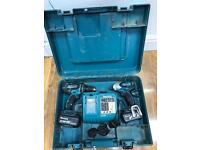2 Makita drills bhp456 and btd140 fully working