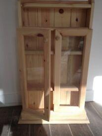 Pine Bathroom cupboard.