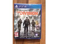 the division (brand new & sealed) , ps4 ! price stands , no offers !