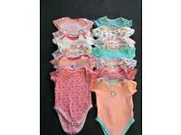 Baby body suits x 13 (9-12 months)