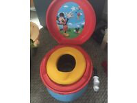 Mickey Mouse potty with sounds