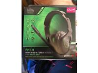 AX1-R Amplified stereo headset for Xbox 360