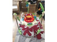 Fisher Price Jumperoo Rainforest Baby Bouncer