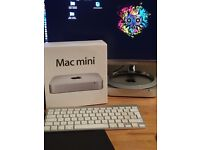 Mac mini 2012 2.3GHZ i7, 16GB RAM, 750GB SSD & 1TB HDD Installed. BOX With XTRAS