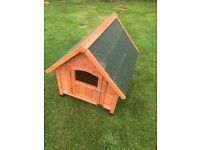 Small wooden kennel