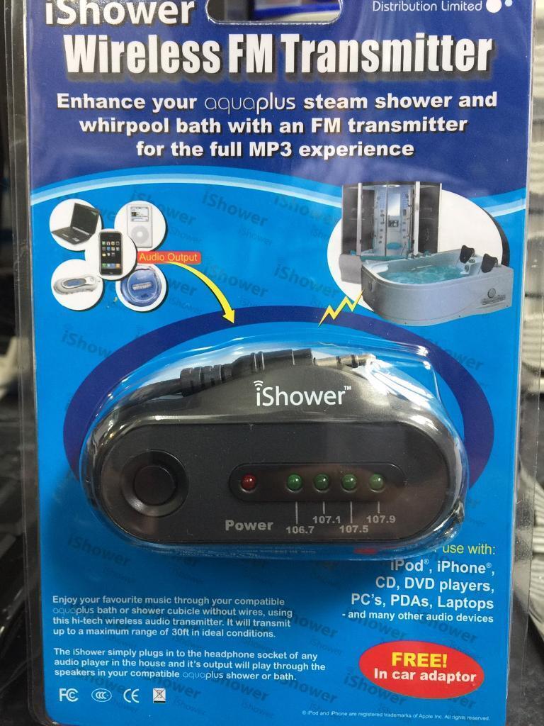 iShower aquaplus wireless transmitter