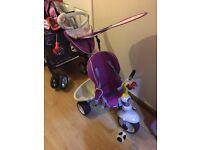 Smart trike 3 in 1 purple