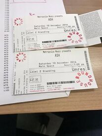 Ash - 1977 - 2 Tickets Roundhouse London - 29 quid each - Level 2 Standing