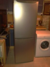 Hotpoint FF175MG Future frost free Silver / Graphite fridge freezer, I month old