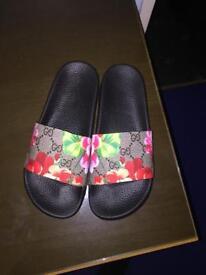 GG Bloom Supreme Slide Sandal