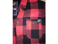 Women's Superdry Red/Pink Lumberjack Shirt