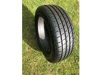 NEARLY NEW 225/55/19 ECOVISION VI-386 HP TYRE