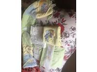 Nursery cot bedding set
