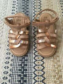 F&F gladiator-esque sandals (size 12)