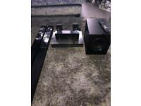 LG smart 3D dvd cinema surround sound with subwoofer