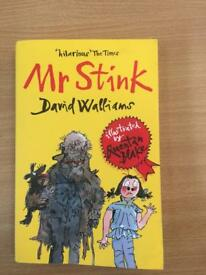 Mr stink children's book David Walliams excellent for the kids