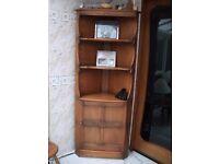Dark Oak Ercol Display Cabinet