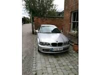 BMW E46 318ci Spares or repair
