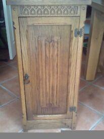 Storage Cabinet - Hardwood (Walnut)