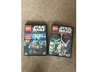 Brand new Star Wars Lego DVD's.