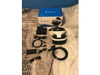 Playstation VR bundle with camera and motion controllers