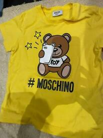 Moschino age 2 boys
