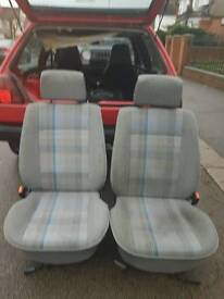 mk2 golf 3dr interior seats and door cards mint condition