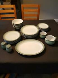 Denby Regency Green Dinner set